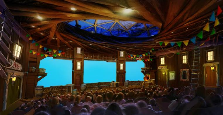 4D Theatre, Suzhou Amusement Land