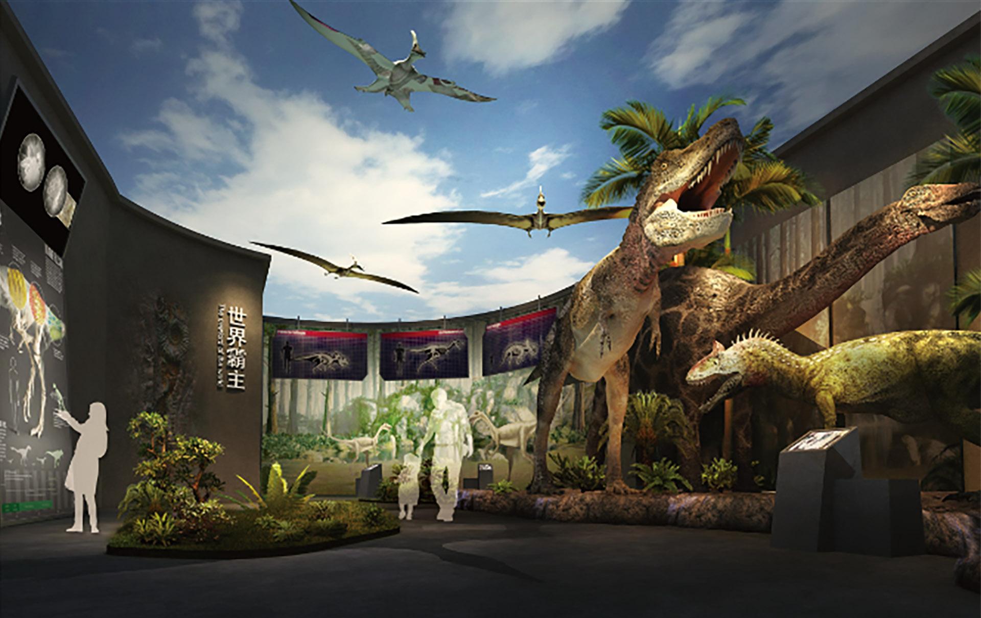Sichuan Zigong Dinosaur museum