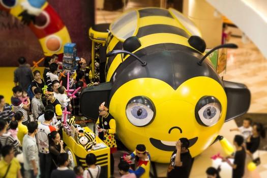 集团快讯|烟台市民注意了,有只小蜜蜂即将引爆芝罘万达,围观走起!